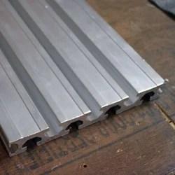 Aluminum T Track Extrusion