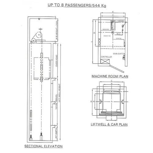 Otis Freight Elevator Size Pictures to Pin on Pinterest