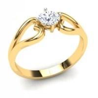 Diamond Solitaire Ring - Promising Ring Exporter from Mumbai