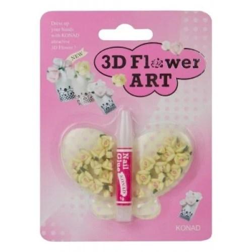 3d Flowers Nail Art Accessories