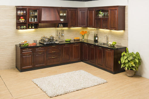 L Shaped Modular Kitchen India