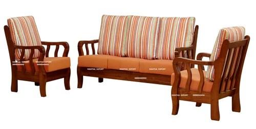 Teak Wooden Sofa Set At Rs 45000 /unit(s)