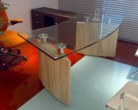 Executive Office Table With Glass Top | www.pixshark.com ...