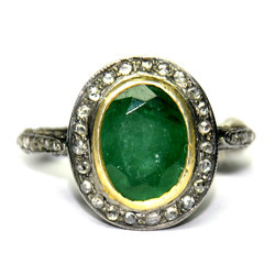 Emerald Diamond Ring Manufacturers Suppliers Amp Exporters