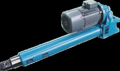 gearbox and linear actuator motorised