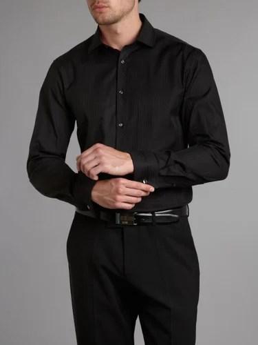 Black And White Mens Shirts