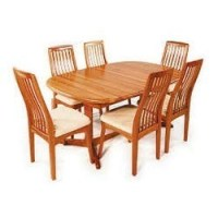 Wooden Dining Table in Coimbatore, Tamil Nadu | Lakdi Ki ...