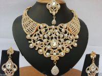 wedding india jewelry sets gold plated