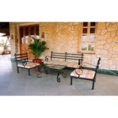 Wrought Iron Sofa Set In Pune Brown Leather Repair Kit Steel - Ka Latest Price, Manufacturers ...