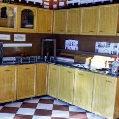 Kitchen Cabinet Price Oak Pantry Pvc At Rs 500 Square Feet Cabinets Id