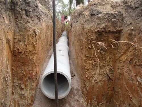 Drainage Line Laying Service  Drainage Line Pipe