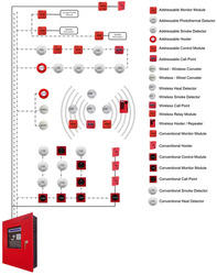 fire alarm systems wiring diagram addressable - wiring diagram, Wiring diagram