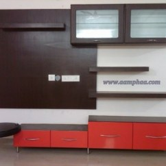 Sleek Tv Unit Design For Living Room Urban Furniture Hall Designs At Rs 35000 /piece(s) | Television ...