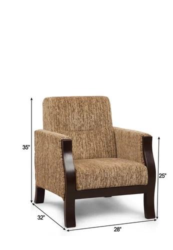 single sofa chair cheap sofas under 100 arra valencia 1 seater brown at rs 16355 piece