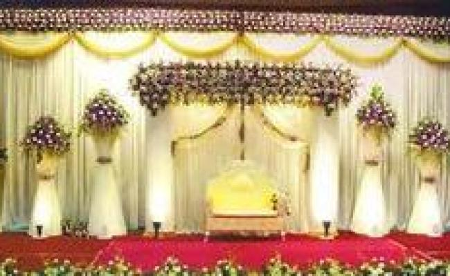 Stage Flower Decoration Services In Hyderabad
