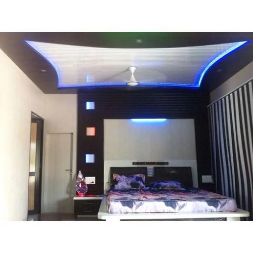 false ceiling designs for living room india curtains design bedroom design, interior designer - rana ...