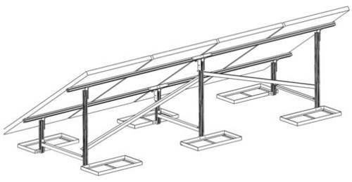 Solar Mounting Structure, Rooftop Solar Mounting Structure