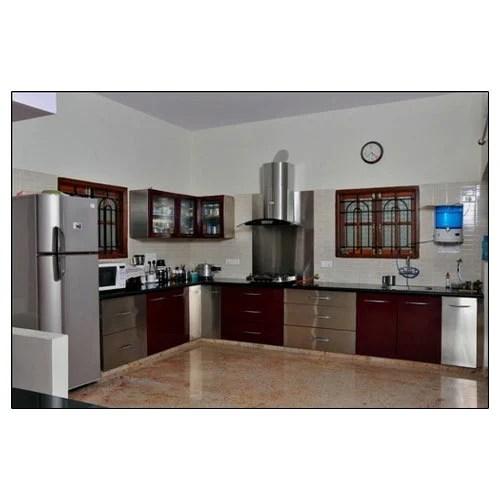 Designer Wooden Modular Kitchen  Exotik Kitchen Hyderabad  ID 8712687097