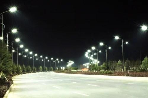 led roadway light light emitting diode