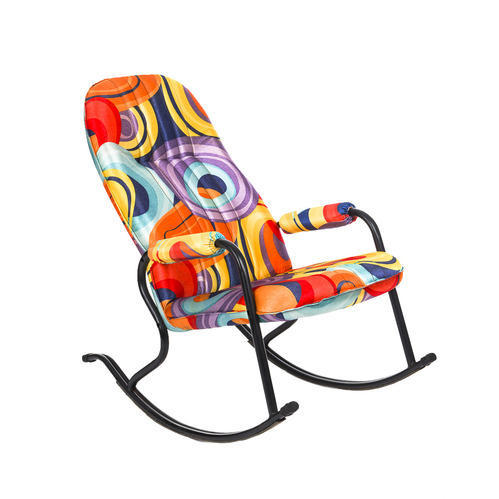 wrought iron rocking chair high backed chairs with arms at rs 4600 piece