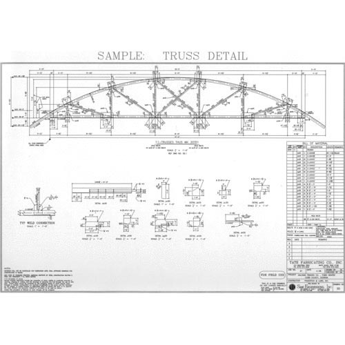 Structural Drawing Services, संरचनात्मक चित्रण सेवा