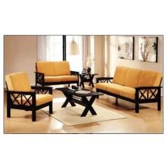 Modern Wooden Sofa Set Designs For Living Room Grey Sectional Sofas Lakdi Ka लकड क स फ Young