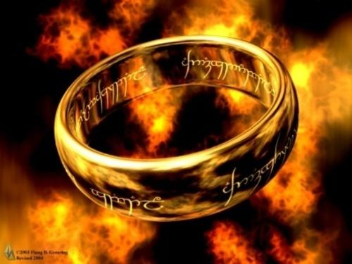 one ring lord of