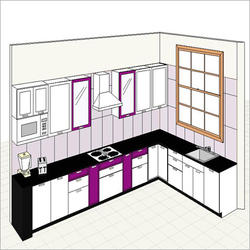 kitchen design budget cabinets without doors low in rk nagar 80 feet road kanpur id