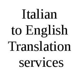 Italian Translation Services in India