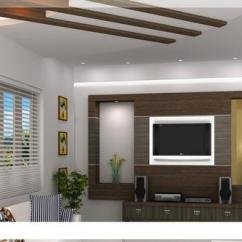 Tv Wall Unit Designs For Living Room In India Decorations Walls Office Interior Designer - Manufacturer From ...