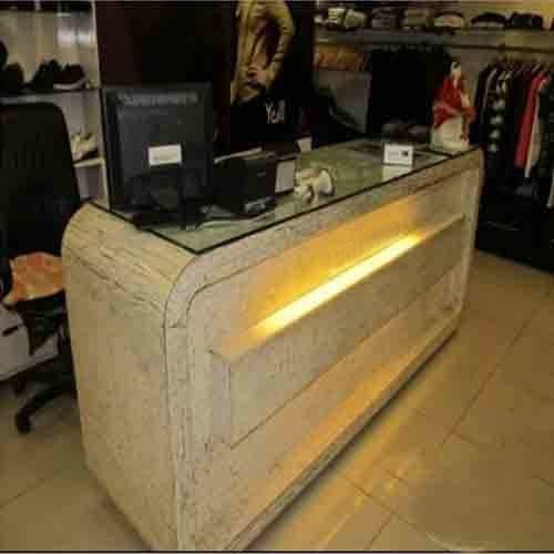 Showroom Furniture  Cash Counter Manufacturer from Hyderabad