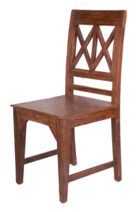 Wooden X Design Chairs | Village Antiques And Ethnic ...