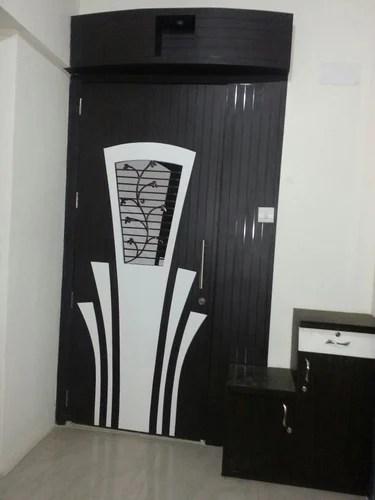Fall Ceiling Wallpaper Design Safety Door Wooden Safety Door Manufacturer From Pune