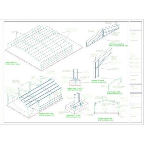 Industrial Shed Layout, Design Services in Virjai