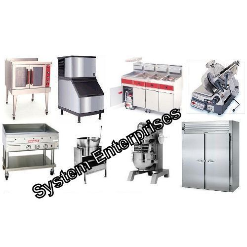 kitchen equipment used clean cabinets refrigerated bakery counter commercial hotel equipments old