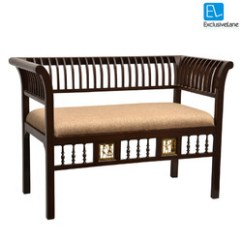 Curved Sofa Set India Sleeper Sectional Rooms To Go Teak At Best Price In