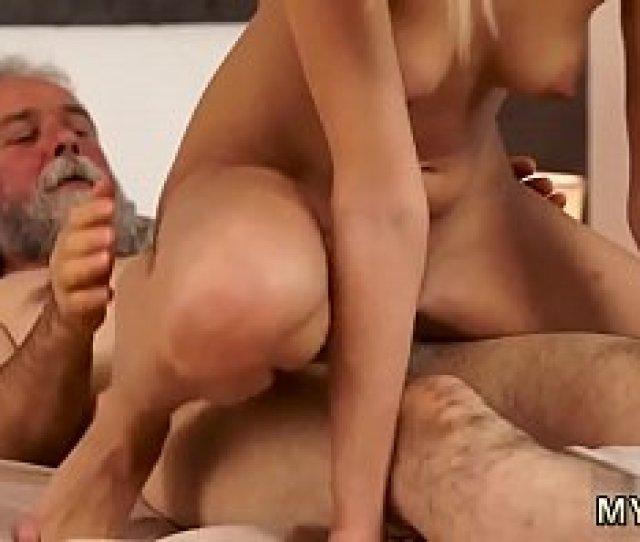 Platinum Blonde College Teacher Poked Surprise Your Girlfriend And She Will Pummel With