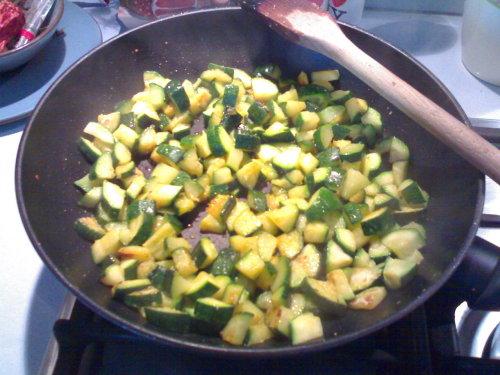 Crespelle con zucchine