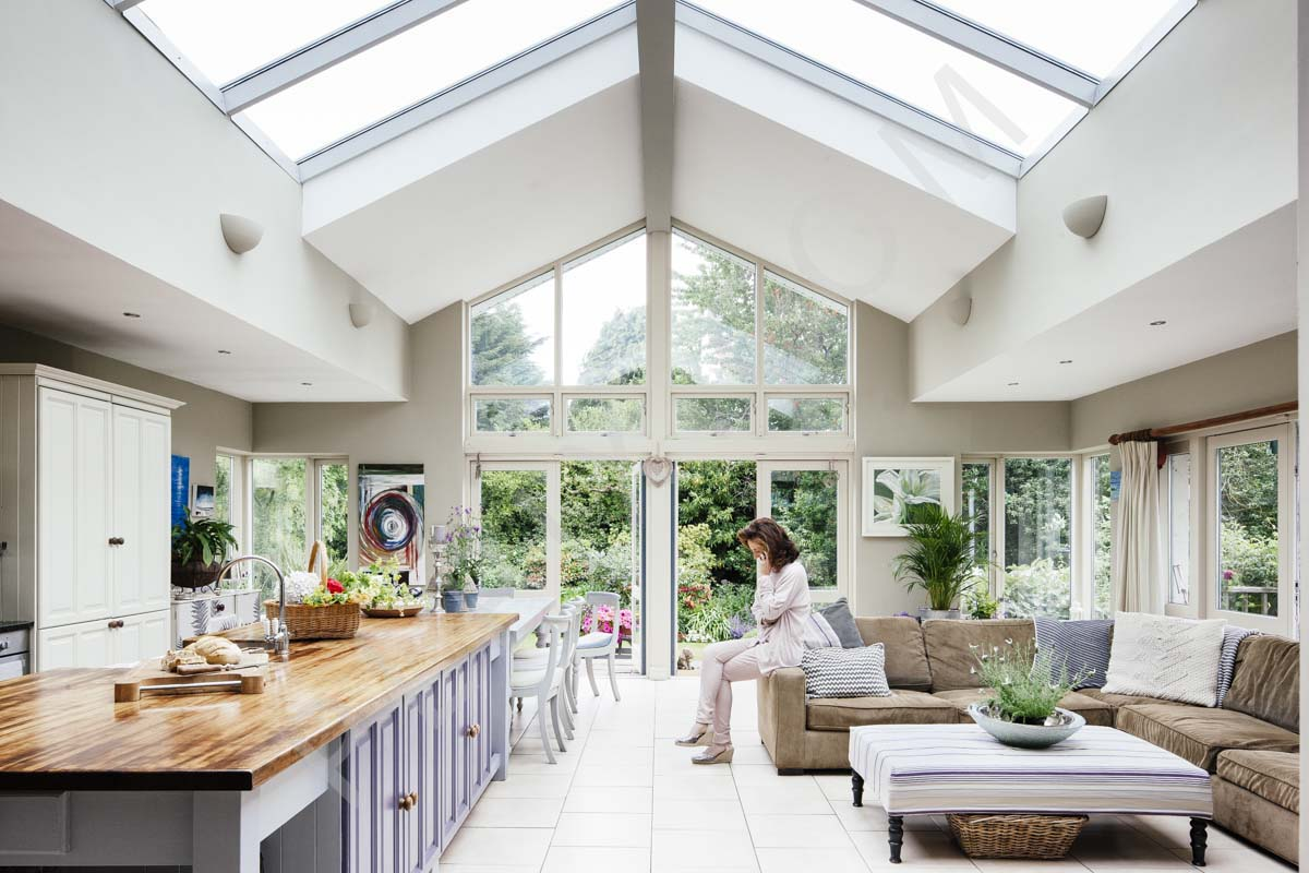 Restored Bungalow with Open Plan Kitchen Area  Interior