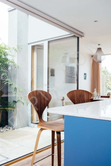 small kitchen island ideas with seating appliance deals extension internal courtyard to a terraced house ...