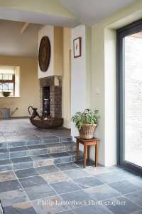 Stone cottage in a village with added extension and views ...