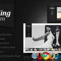 Wedding album premium xhtml css template photography creative