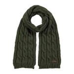 Barts Cable sjaal jongens groen
