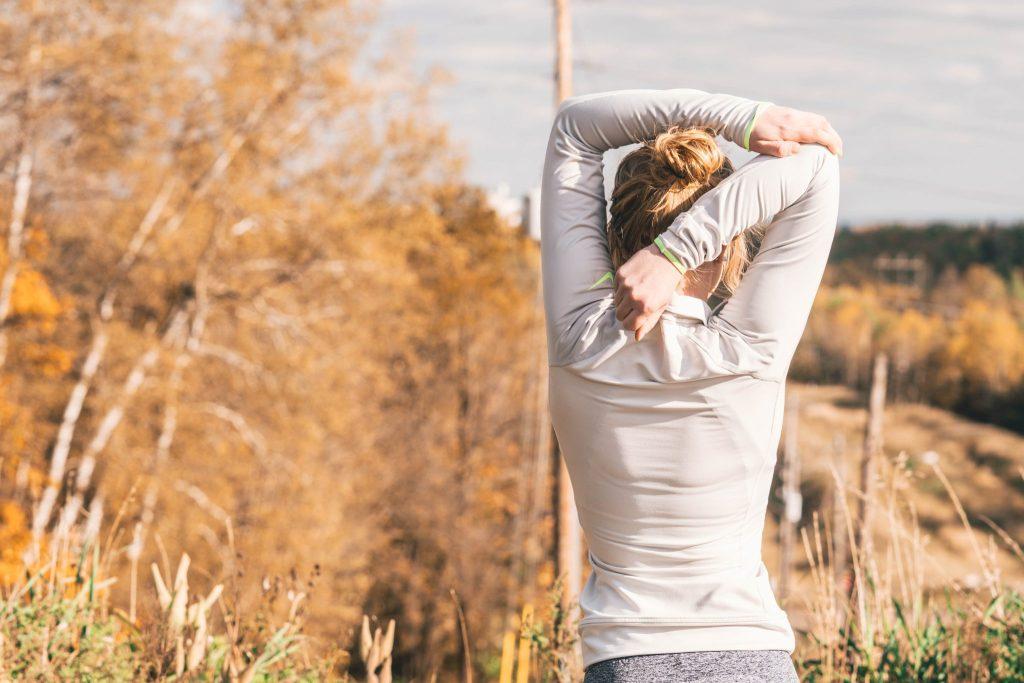 femme en bonne santé affirmation positive