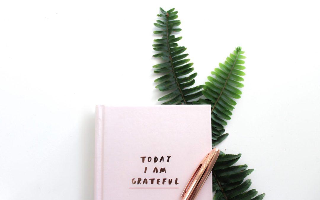 Pourquoi tu devrais tenir un journal de gratitude ?