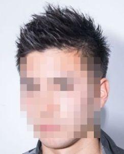 男らしい髪型