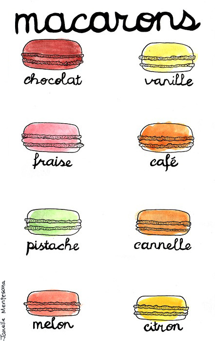 Macarons by Janelle Burger