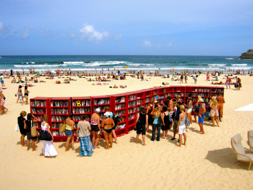 Looking for a beach read? At Bondi, you can borrow one from the vast library for free (or donation).