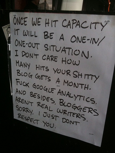 Sign Of The Times of the Day: Spotted outside Austin's Beerland by SXSW attendee Eddie Codel. Ouch. [laughingsquid.]