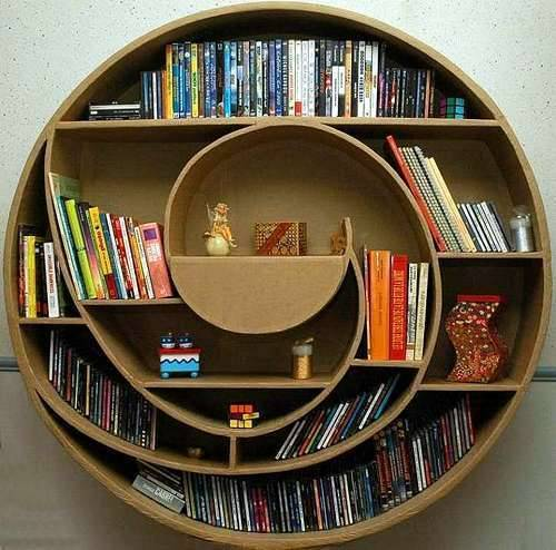 lovegeneration:  one of my favorite bookshelves of all time